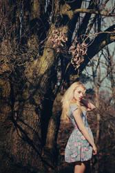 Spring Angel by stalae