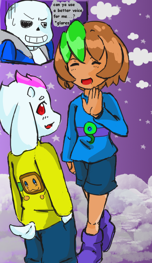 UnderTale with Sam and Tim by SparkTheUmbreon