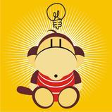 Monkey Idea by Japah