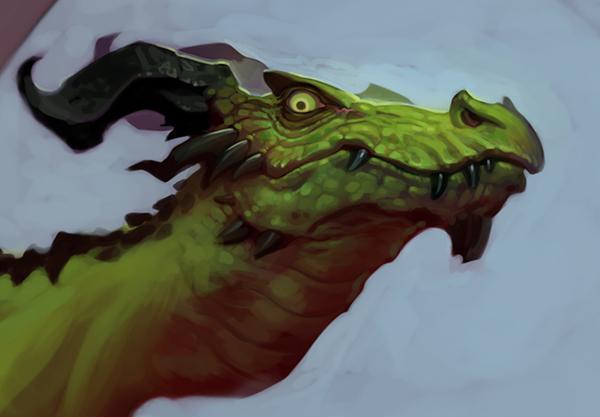 Dragonhead! by NorseChowder