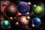 Starcraft Risk Game Board Art