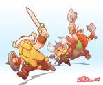 Blizzcon Lost Vikings Demo Color