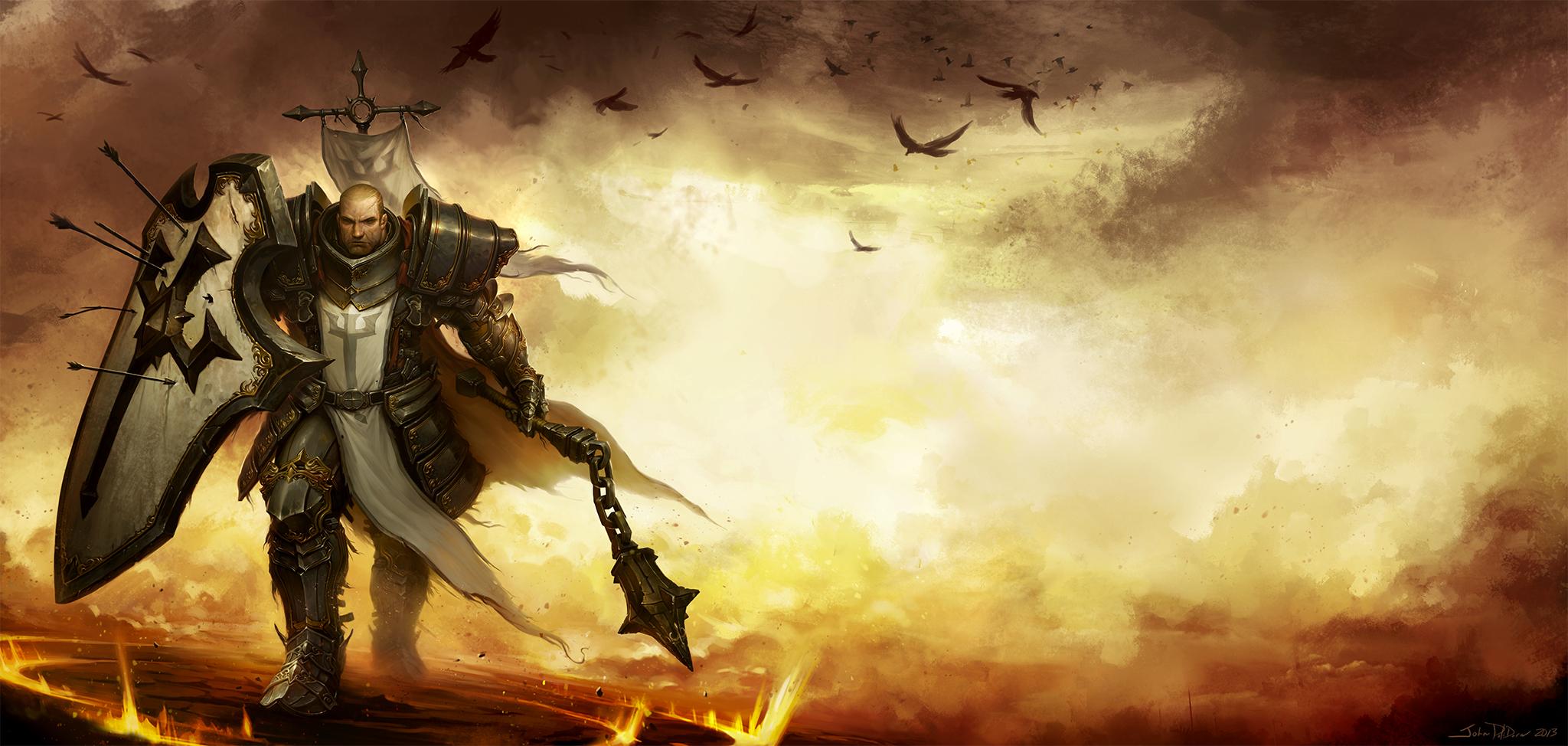diablo 3 reaper of souls box art by norsechowder on