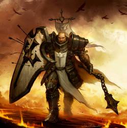 Diablo 3: Reaper of Souls Box Art Crop by NorseChowder