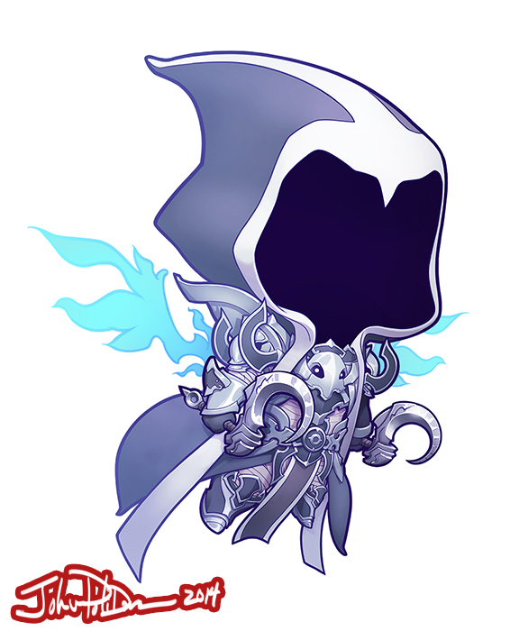 Cute but Deadly MALTHAEL by NorseChowder