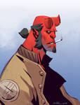 Quickie Hellboy Sketch