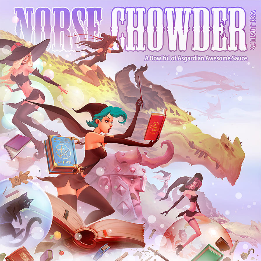 A Bowlful of Asgardian Awesome Sauce Cover by NorseChowder