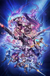 Blizzcon 2014 Promotional Art - without Banner by NorseChowder