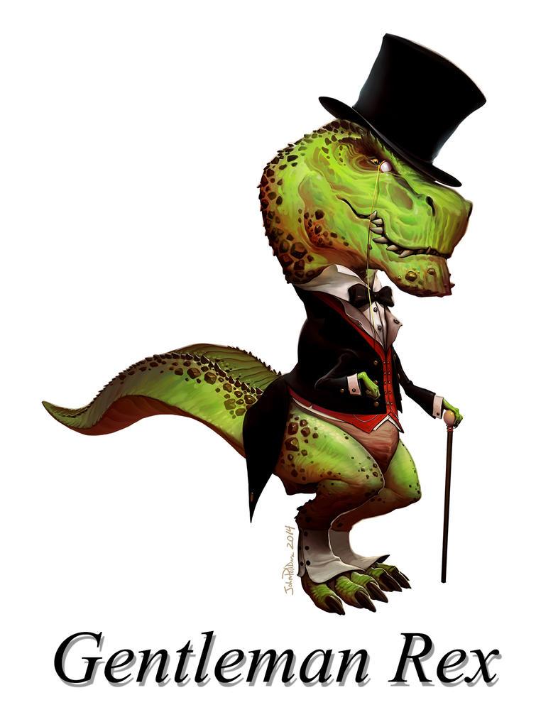 Gentleman Rex by NorseChowder