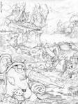 Battle Hobbit Redux by NorseChowder
