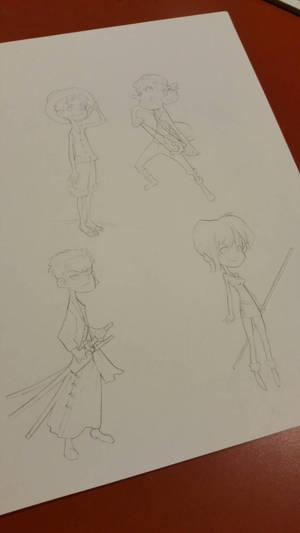 One Piece Doodles