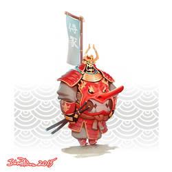 Chubby Samurai! by NorseChowder