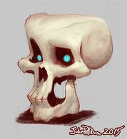 Quickie Skull by NorseChowder