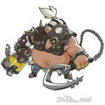 Cute But Deadly Roadhog