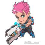 Cute But Deadly Zarya