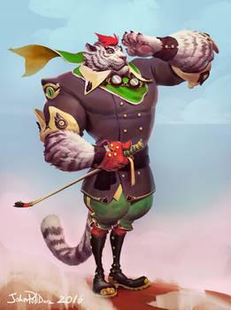 Skye Captain Bengal