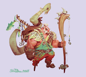 Fishing Barbarian Garp