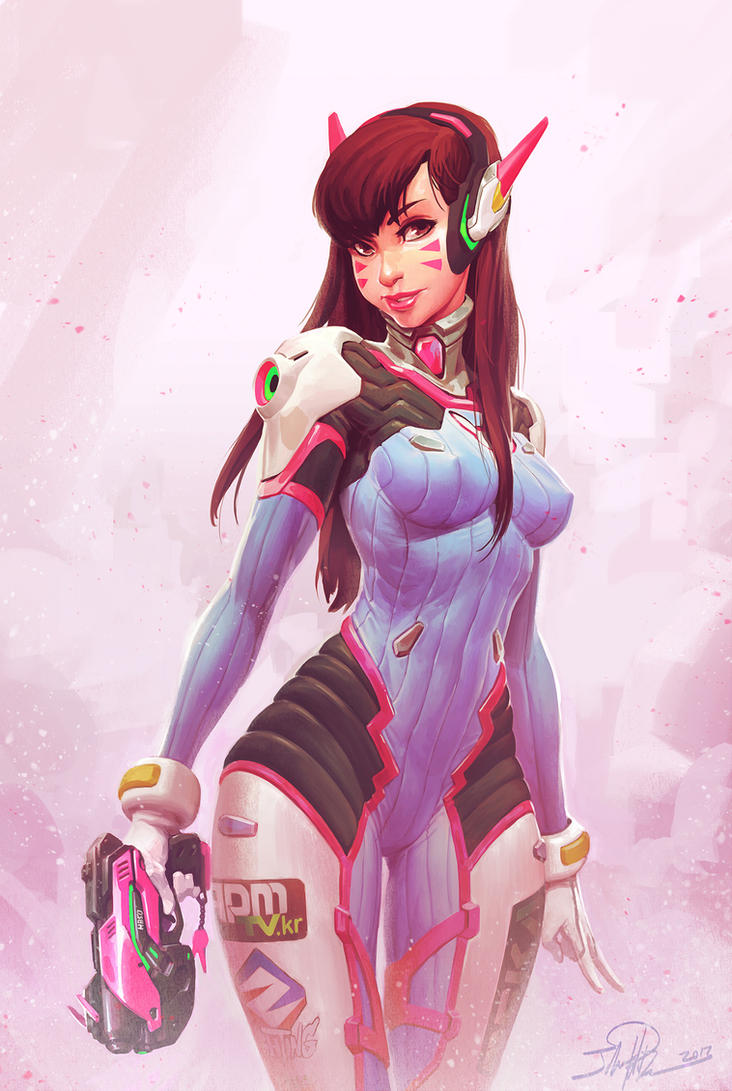 Gamers For Good D.Va Fanart by NorseChowder