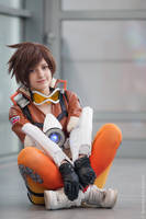 Lena Oxton aka. Tracer from Overwatch by KUMIcosplay