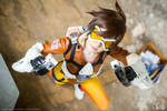 Tracer from Overwatch- Cheers Love!