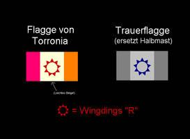 Flag of Torronia - Medieval by dracenmarx
