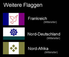 Flags of other countries by dracenmarx