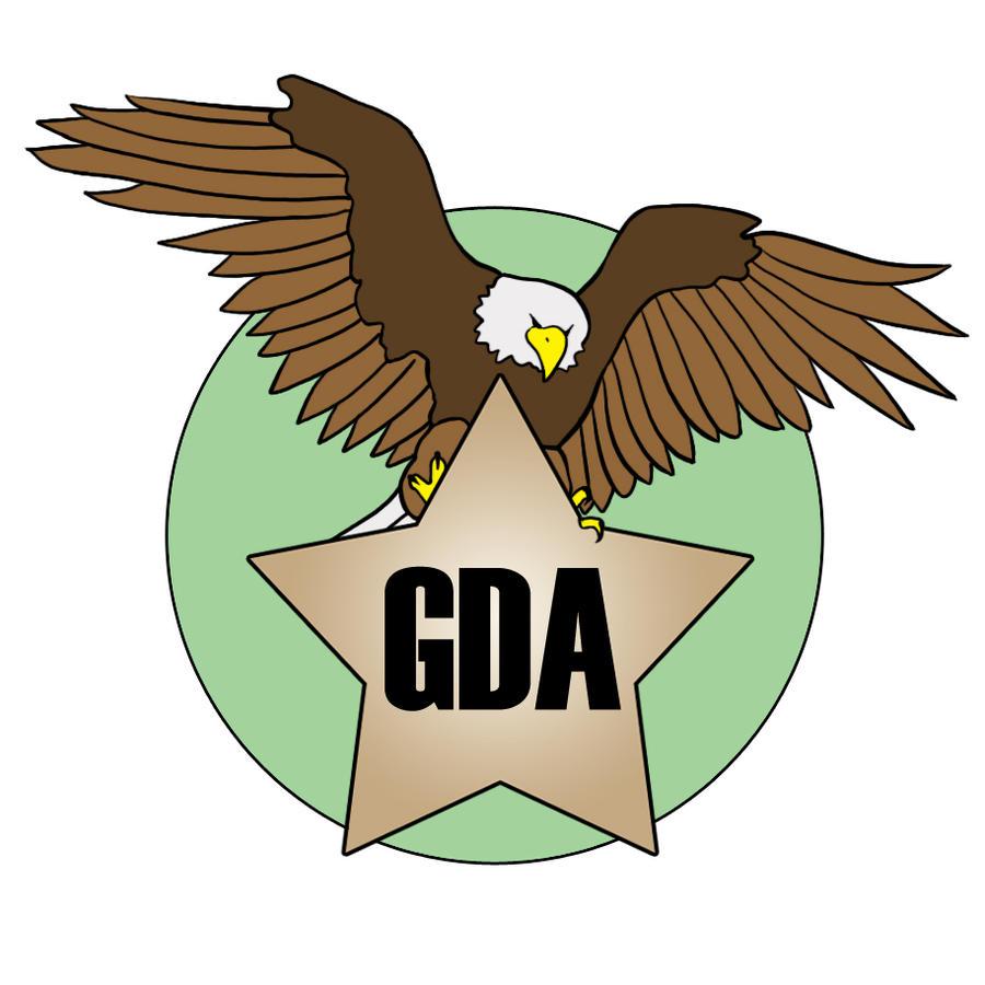 German Dragon Army Badge