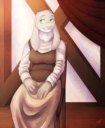 Painterly Portrait: Lindy (wife of Lewis Wilmot) by dracenmarx