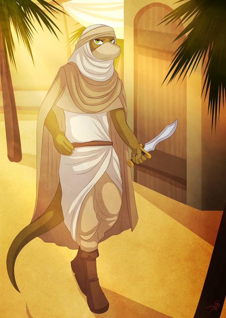 Arabian Lewis by dracenmarx
