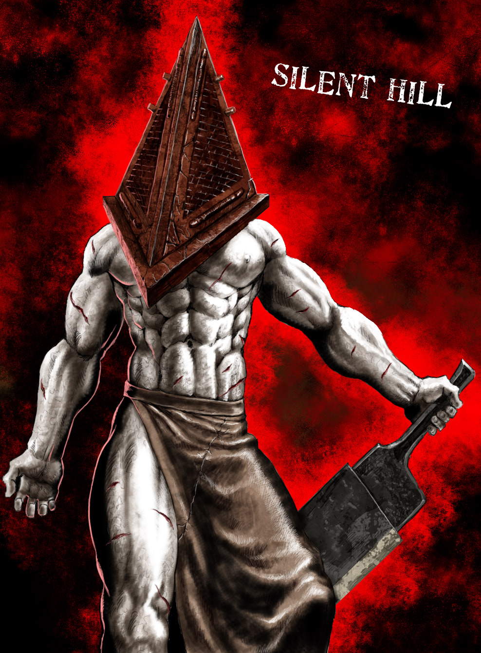 Pyramid Head From Silent Hill By Nasumaru On Deviantart