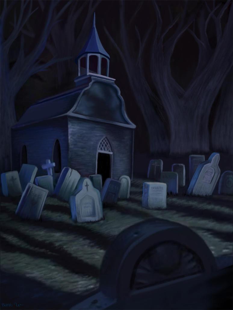 Sleepy Hollow Churchyard Cemetery by LunaLoveBunny