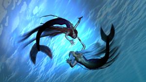 Undine and Mermaid