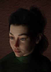 Portrait X by Gluck4012