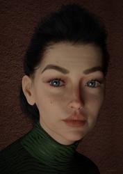 Portrait Z by Gluck4012