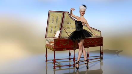 Harpsichord (16:9) by Gluck4012