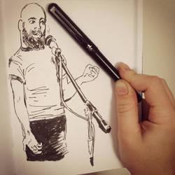 Open Mic Night: Vid's Spoken Word Performance by kineticnovels
