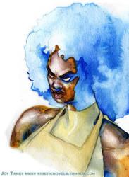 Bitch Planet: Kamau Kogo by kineticnovels