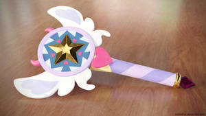 Star Butterfly's Wand by Silshadnic