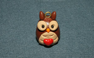 Owl charm by Guvy