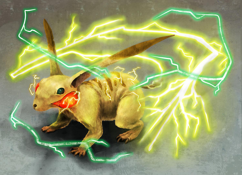 Pikachu Lv100 by kyougyo