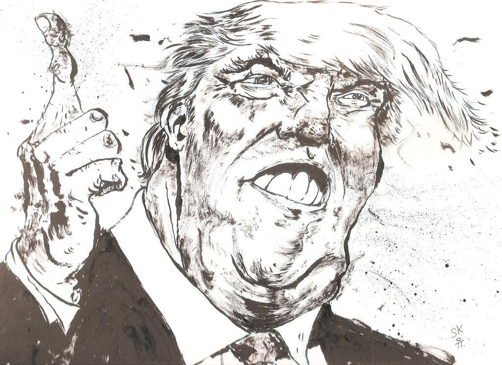 Tum Tu Tu Tum Trump by KRAKABOOM