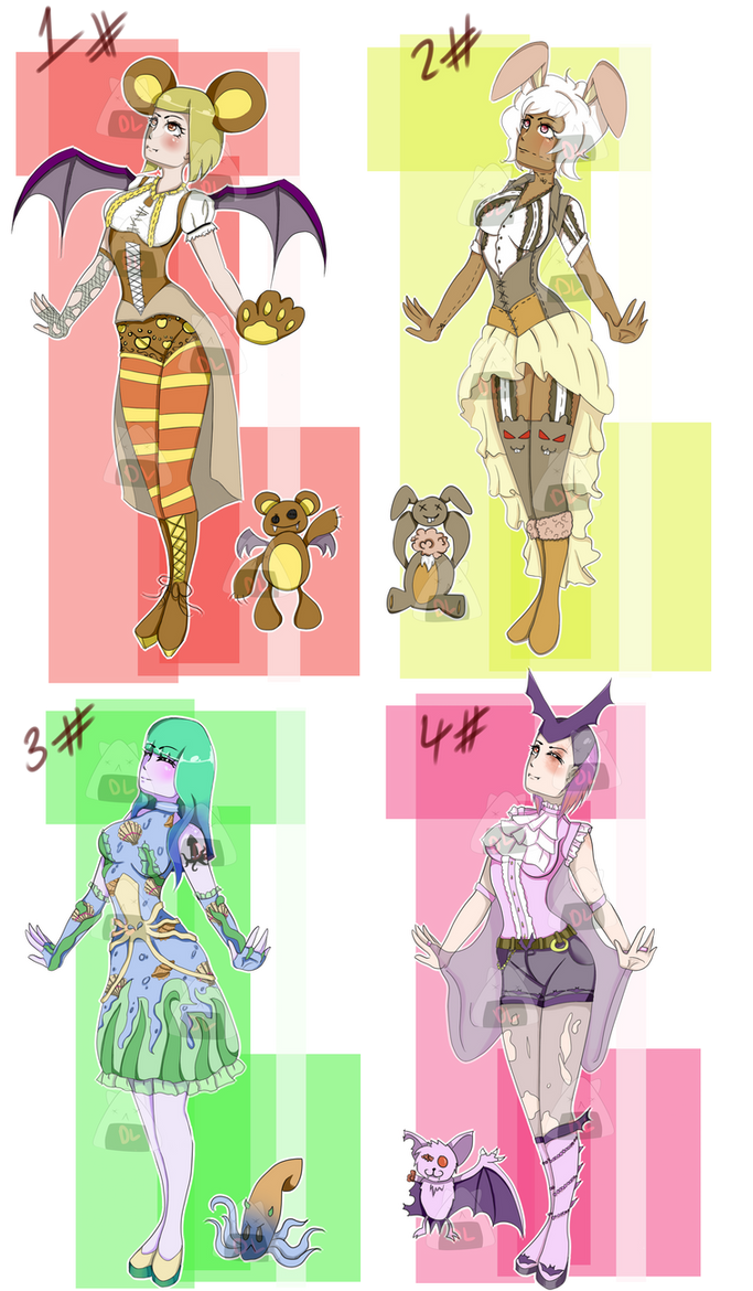 (Lower Prices) Possessed Dolls Batch (OPEN) by o-DarkLee-o