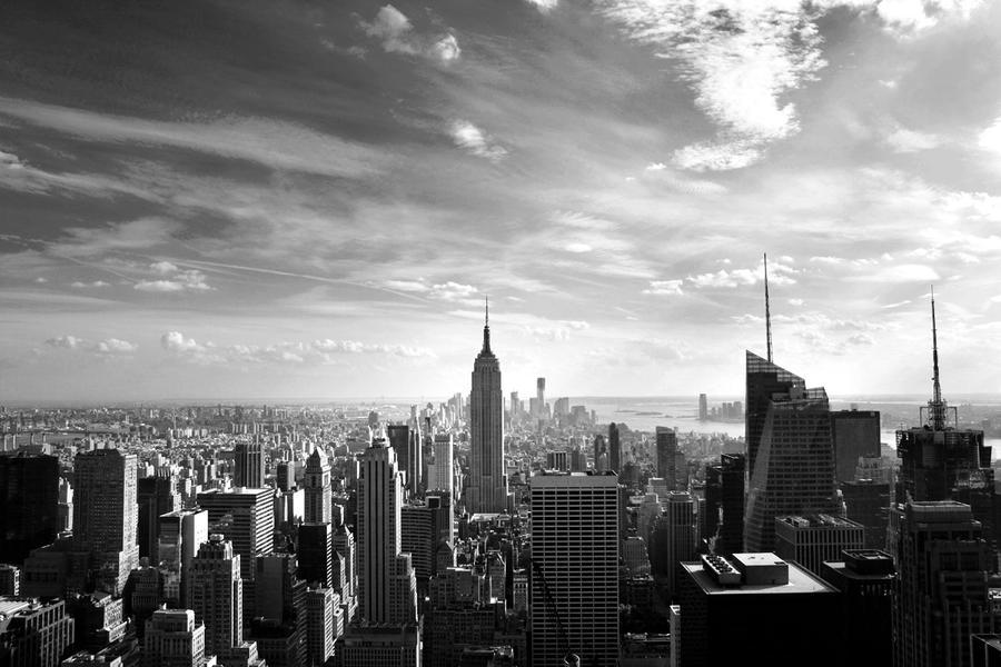 New York skyline by Isahn