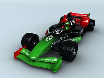 Autodesk F1 by Clawson