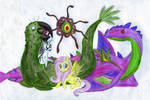 Beastmaster Fluttershy by ZaubererbruderASP