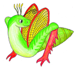 Grasshopper Dragon by ZaubererbruderASP