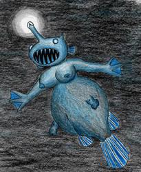 Angler mermaid by ZaubererbruderASP