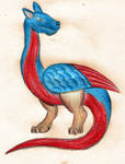 Medieval Dragon by ZaubererbruderASP