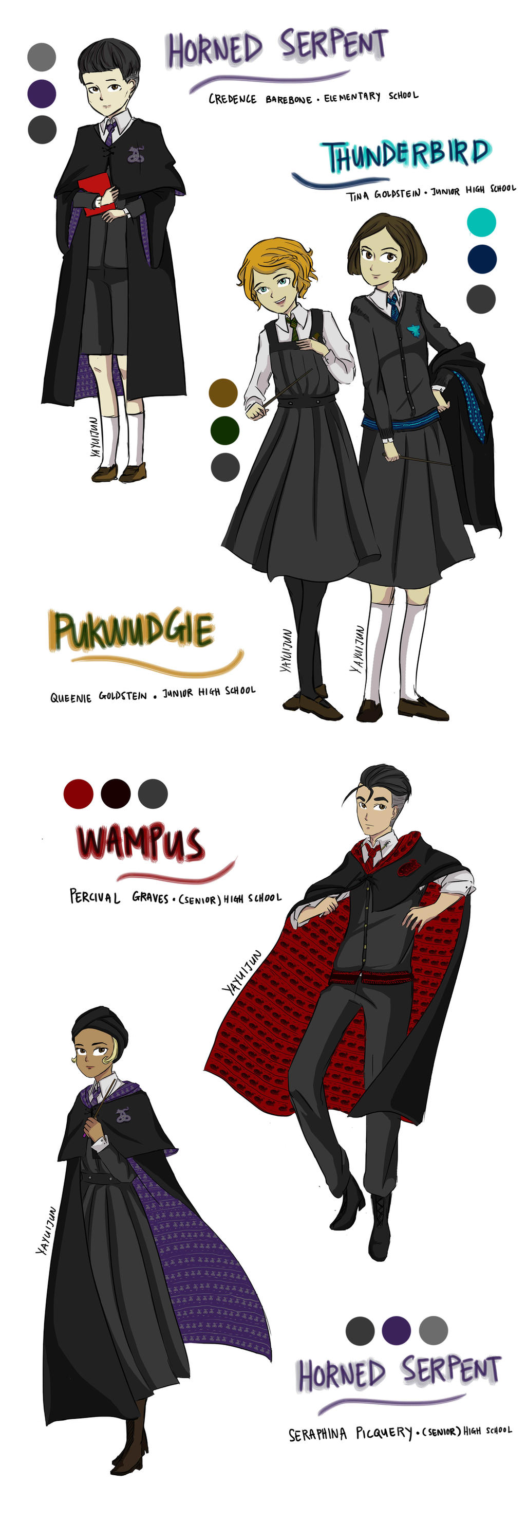 Ilvermorny School Of Witchcraft And Wizardry By Yayuijun