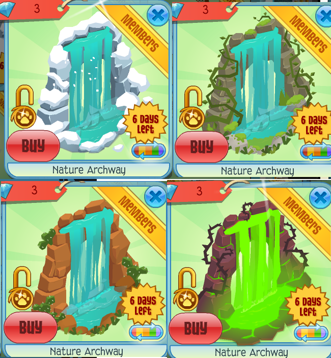 Animal jam New Nature Archways by Mousegirlabc